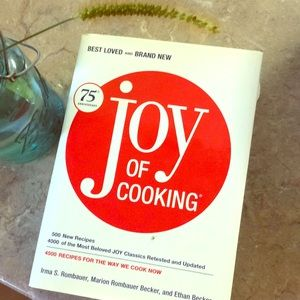 Other - Joy of cooking cookbook